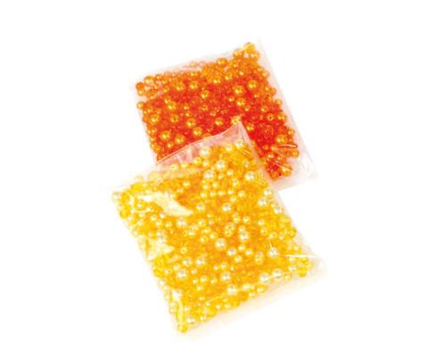 Schmetterling-Draht-Set orange-gelb-2