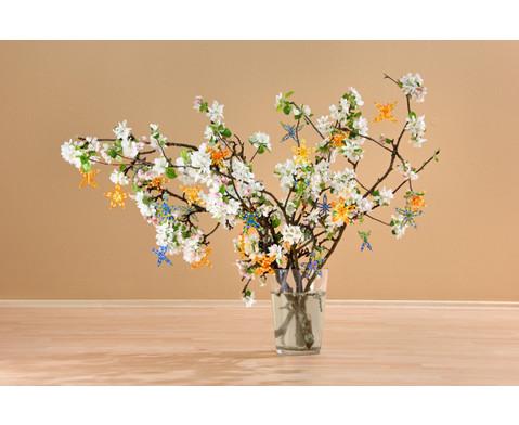 Schmetterling-Draht-Set orange-gelb-4