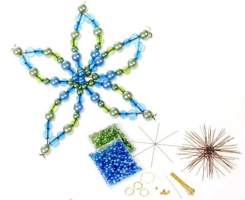 Blumen-Draht-Set gruen-blau