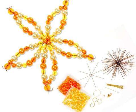 Blumen-Draht-Set orange-gelb