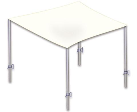 mast f r sonnensegel. Black Bedroom Furniture Sets. Home Design Ideas
