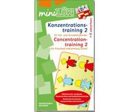miniLÜK: Konzentrationstraining 2 ab 1. Klasse