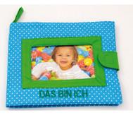 """Bilderalbum aus Stoff """"Das bin ich"""""""
