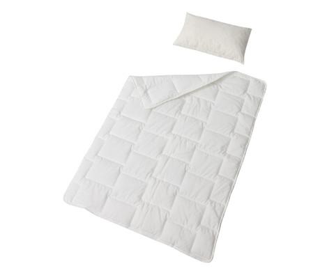 Bettdecke - schwer entflammbar