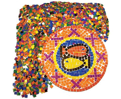 10000 quadratische Papier-Mosaik-Plaettchen