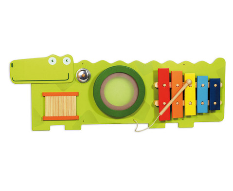 Wandspiel Krokodil