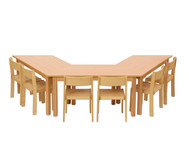 Möbel-Sparset Padma - Sitzhöhe 34 cm