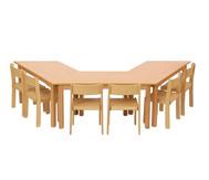 Möbel-Sparset Padma - Sitzhöhe 38 cm