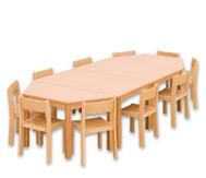 Möbel-Sparset Kusuma - Sitzhöhe 38 cm