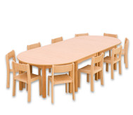 Möbel-Sparset Bunga - Sitzhöhe 30 cm