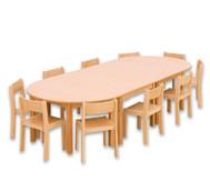 Möbel-Sparset Bunga - Sitzhöhe 34 cm