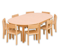 Möbel-Sparset Karima - Sitzhöhe 34 cm