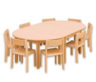 Möbel-Sparset Karima - Sitzhöhe 38 cm