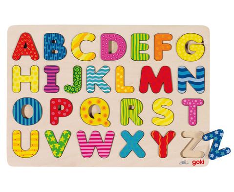 Alphabet-Puzzle A - Z