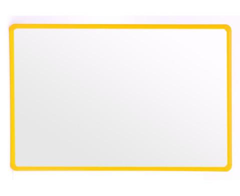 Wandspiegel gelb