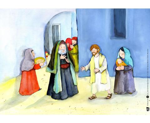 Bildkarten Der barmherzige Samariter-3