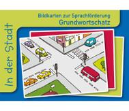 In der Stadt, Sprachförderung mit Bildkarten
