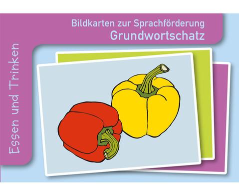 Essen  Trinken Sprachfoerderung mit Bildkarten