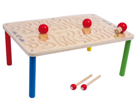 Spieltisch Magnetparcours