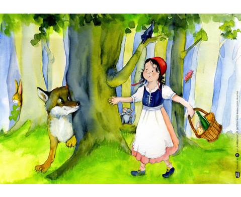 Bildkarten Rotkaeppchen-2