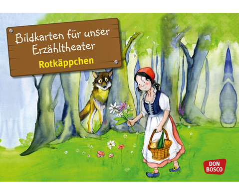Rotkaeppchen Kamishibai-Bildkartenset
