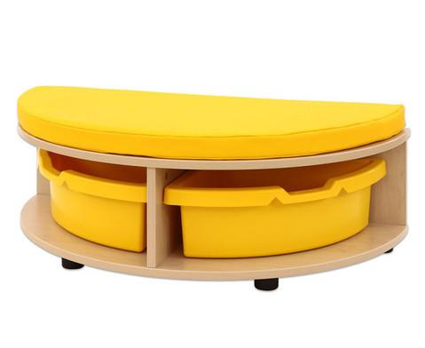 Maddox Sitzkombination 2 gelbe Sitzmatten-3