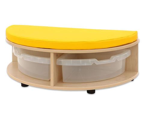 Maddox Sitzkombination 2 gelbe Sitzmatten-8