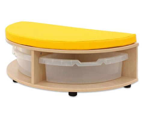 Maddox Sitzkombination 2 gelbe Sitzmatten-9