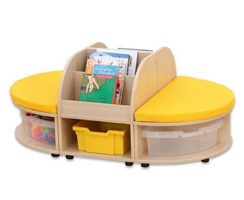 Maddox Sitzkombination 2 gelbe Sitzmatten-5