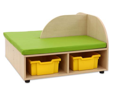 Maddox Sitzkombination 4 Sitzmatten gelb-gruen-8