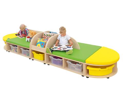 Maddox Sitzkombination 5 gruen-gelbe Sitzmatten-3