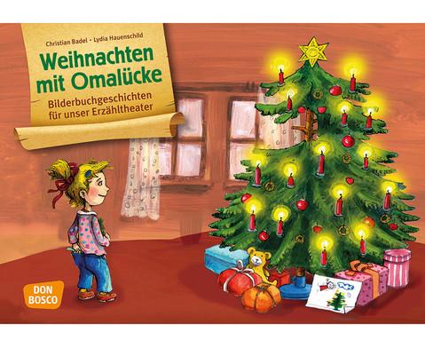 Bildkarten  Weihnachten mit Oma Luecke