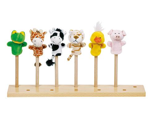 Fingerpuppen-Set Tiere