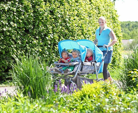 Krippenwagen fuer 4 Kinder-3