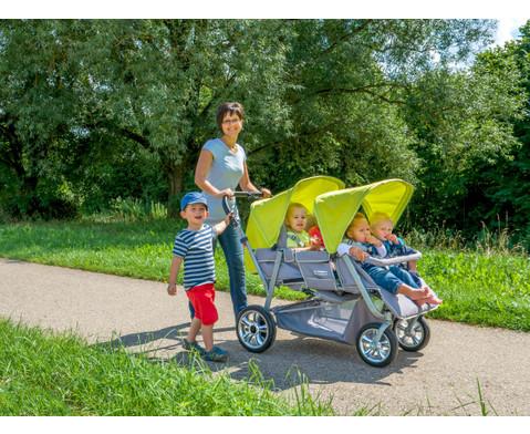 Krippenwagen fuer 4 Kinder-12