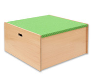 Spielpodest Quadrat groß