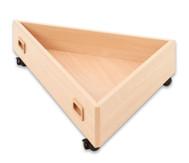 Rollkasten für Spielpodest Dreieck