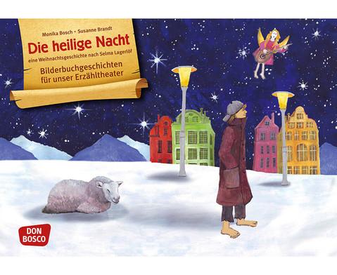 Bildkarten Die heilige Nacht
