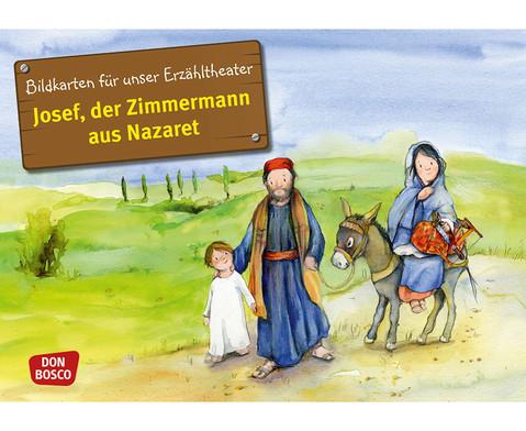 Bildkarte Josef der Zimmermann aus Nazaret