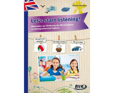 Lets start listening - fuer 1-2 Klasse-1