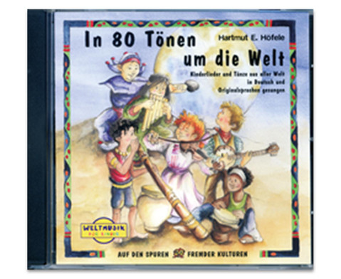 In 80 Toenen um die Welt Audio-CD