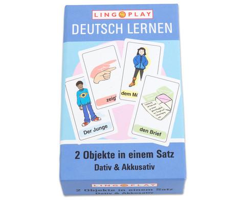 Deutsch Lernen - 2 Objekte in einem Satz DaZ-Basisgrammatik