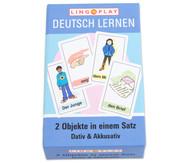 Deutsch Lernen - 2 Objekte in einem Satz! DaZ-Basisgrammatik