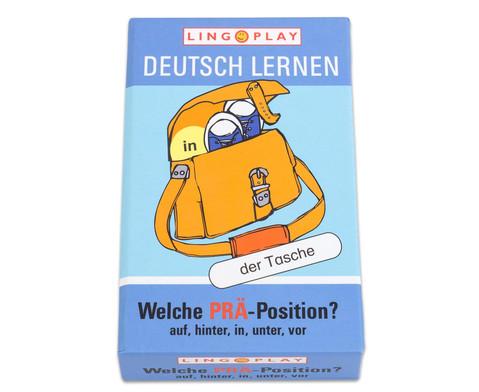 Deutsch Lernen - Welche PRAE-Position