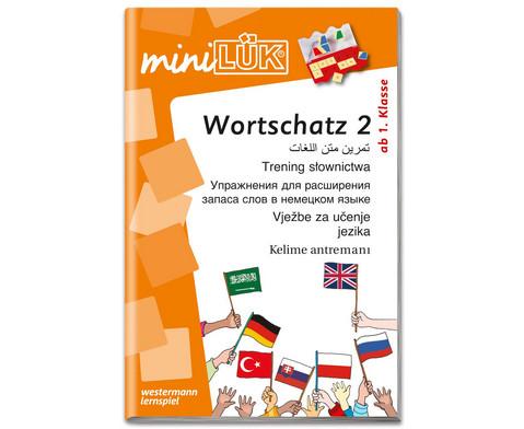 miniLUEK Wortschatztraining 2