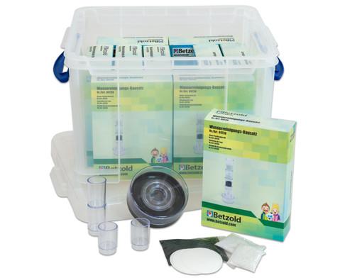 Betzold Wasserfilter-Set in Transportbox