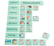 Klassendienst Tafelmagnete Set