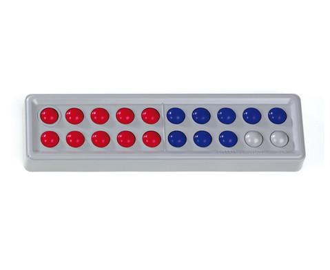 Abaco 20 10 blau- 10 rot Bloecke