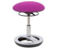 FLEXness Round Hocker, Sitzhöhe: 44 - 57 cm
