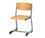 Schülerstuhl höhenverstellbar (offener Sitzträger)